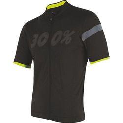t-shirt męski z suwakiem na całej długości cyklo classic czarny xxl marki Sensor