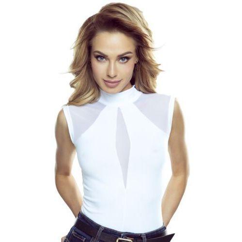 Chanel bluzka damska Eldar Romantica Active Biała - Biały