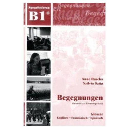 Begegnungen DaF B1 Glossar (2008)