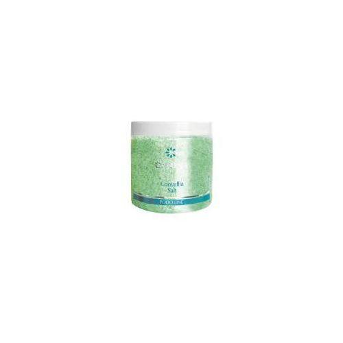 Clarena podo line, sól do kąpieli stóp i ciała, zapach konwalii, 250g