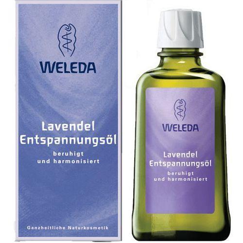 Weleda lawendowy olejek odprężający 100 ml