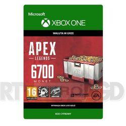 Apex Legends - 6700 monet [kod aktywacyjny] Xbox One