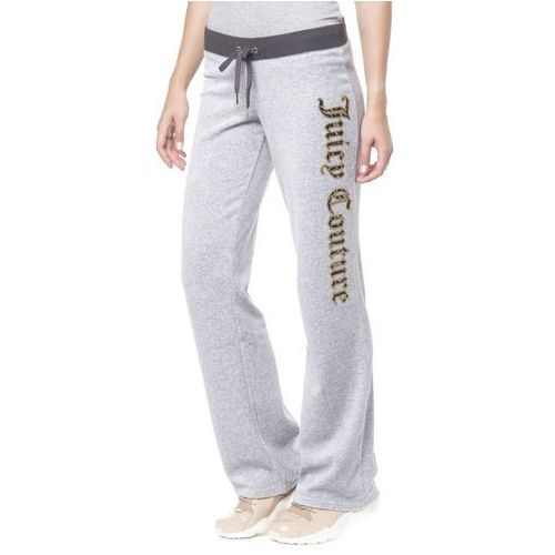 Juicy Couture Lace Del Rey Spodnie dresowe Szary L