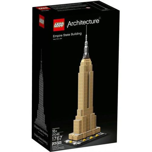 21046 EMPIRE STATE BUILDING KLOCKI LEGO ARCHITECTURE