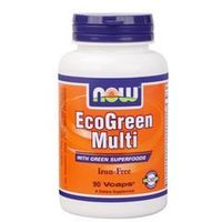 Tabletki NOW Foods EcoGreen Multi, 90 tabl