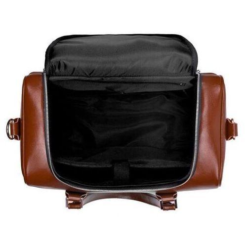 Skórzana torba weekendowa unisex dratford sl27 vintage brown marki Solier