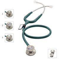 Mdf Stetoskop md one epoch 777dt z tytanu z głowicą 4w1 - szmaragdowy