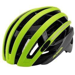Alpina Campiglio Kask rowerowy zielony/czarny 51-56cm 2018 Kaski rowerowe