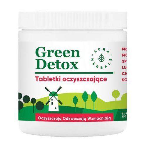 Tabletki Green Detox tabletki oczyszczająca 100g