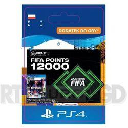 Fifa 21 12000 punktów [kod aktywacyjny] ps4 marki Sony