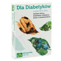Kapsułki Dla Diabetyków (Morwa Biała + Borówka + Cynamon) 48 kaps.