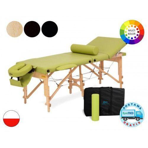 Składany stół do masażu Reflex Ultra drewniany z regulacją wysokości MOV Reflex Ultra 8