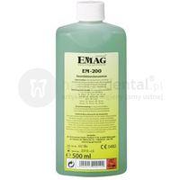 em-200 koncentrat do dezynfekcji narzędzi medycznych i kosmetycznych 500ml - płyn do myjki ultradźwiękowej marki Emag