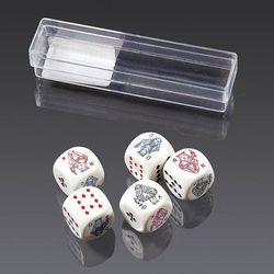Kości do gry Piatnik Pokerowe 16mm, AM