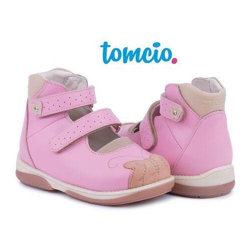 Baleriny profilaktyczne Memo Princessa 3JB kolor różowy