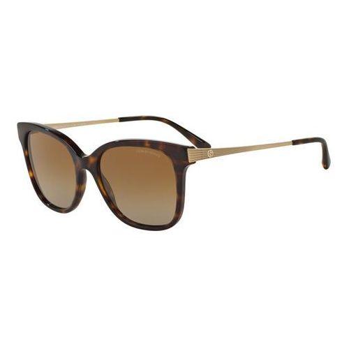 Giorgio armani Okulary słoneczne ar8074f asian fit polarized 5026t5