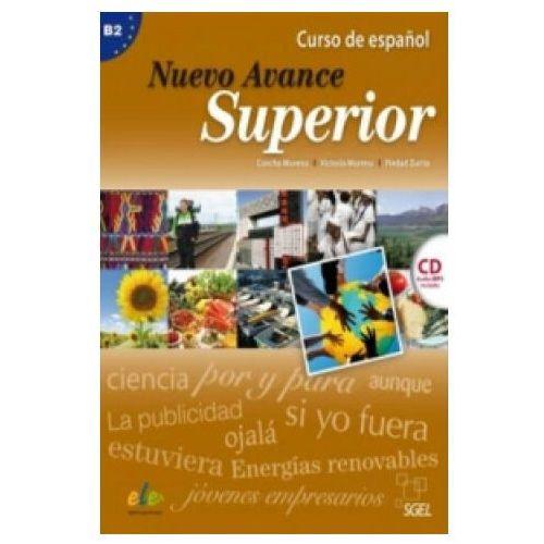 Nuevo Avance superior B2 podręcznik płyta CD audio, Moreno Concha Moreno Victoria