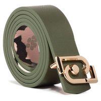 Pasek Damski LIU JO - Cintura Reversibile AA0295 E0503 Vert Milit/Camou U9736