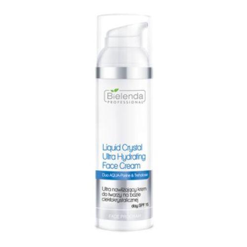 Bielenda professional liquid crystal ultra hydrating face cream ultranawilżający krem do twarzy na bazie ciekłokrystalicznej spf 15 - 100 ml (137262)