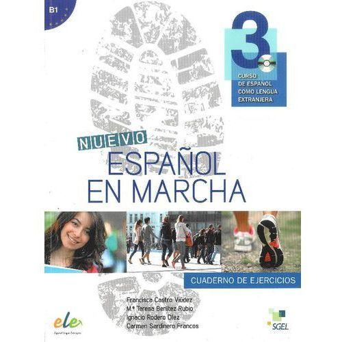 Nuevo Espanol en marcha 3 ćwiczenia CD audio, oprawa miękka