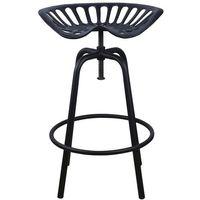 stołek barowy czarny ih031 marki Esschert design