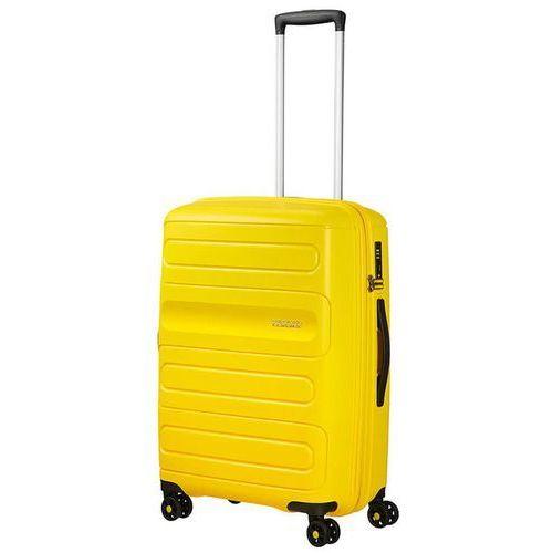 Walizka średnia sunside poszerzana - sunshine yellow marki American tourister