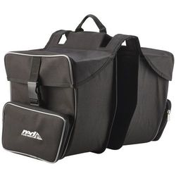 Red Cycling Products Premium Double Bag Torba rowerowa czarny Torby na bagażnik
