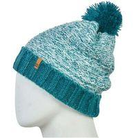 czapka zimowa 686 - Bella Knit Pom Beanie Deep Teal (TEAL)