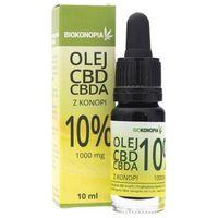 Biokonopia Olejek z konopi 10% CBD 1000 mg - 10 ml