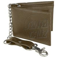 portfel SANTA CRUZ - Opus Dot Chain Wallet Brown (BROWN )