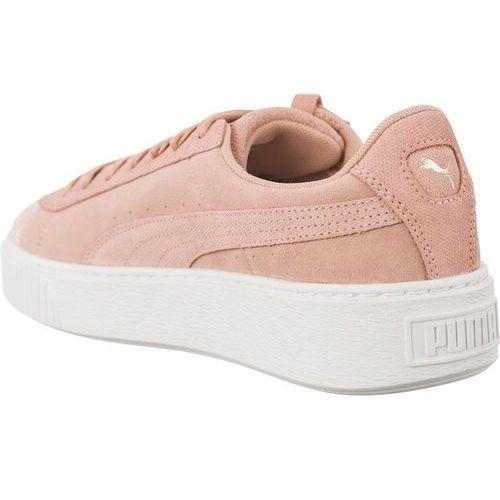 Puma Suede Platform Wn 401 br?zowe   Sneakers, Buty i Buty
