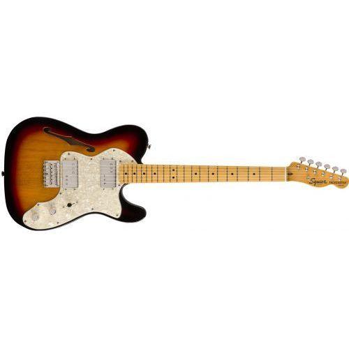 classic vibe 70s telecaster thinline maple fingerboard 3ts gitara elektryczna marki Fender