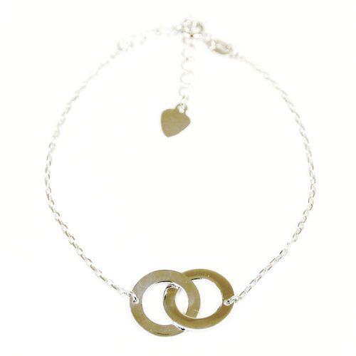 31312bf5e92485 ... Galeria produktu; Bransoletka srebrna SB.021.03 SAXO Biżuteria damska  ze srebra, kolor szary - Zdjęcie Bransoletka ...