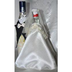 Ozdoby alkoholu weselnego  Kraszek