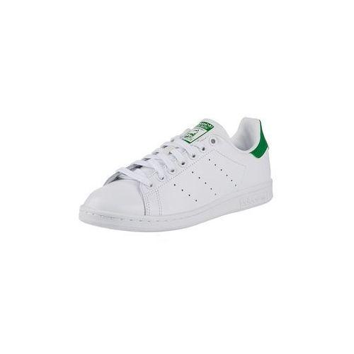 Adidas originals trampki niskie 'stan smith' zielony / biały