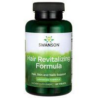 Tabletki Swanson Formuła Rewitalizująca Włosy 60 tabletek