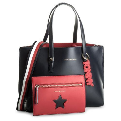 18738c428100e Torebka TOMMY HILFIGER - Th Effortles Tote AW0AW05128 413
