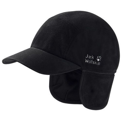 stormlock blizzard nakrycie głowy czarny m 2018 czapki z daszkiem marki Jack wolfskin