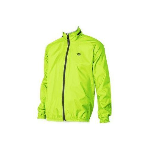 Accent 610-30-046_acc-xl kurtka przeciwdeszczowa aqua żółta odblaskowa xl