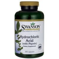 Hydrochloric acid (Betaina 325mg + Pepsyna 82mg) 250 kaps.