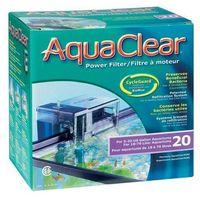 aquaclear 20-mini filtr zewnętrzny kaskadowy do akwarium o poj. 18-76l marki Hagen