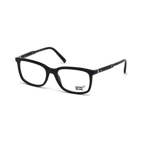 Okulary korekcyjne mb0638 001 Mont blanc