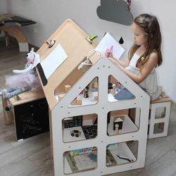 Oloka-gruppe Domek edukacyjny drewniany familok