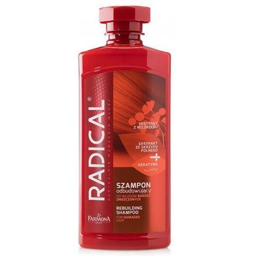 Farmona radical szampon odbudowujący do włosów bardzo zniszczonych (400 ml) - Bombowa obniżka