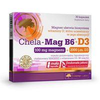 Olimp Chela-Mag B6+D3 30 kaps. 066900 Z REKLAMY TV