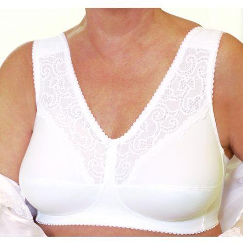 Biustonosz gorsetowy Apart Contura Belle Silima (kieszonka na lewą pierś, rozmiar 90C, biały), kolor biały
