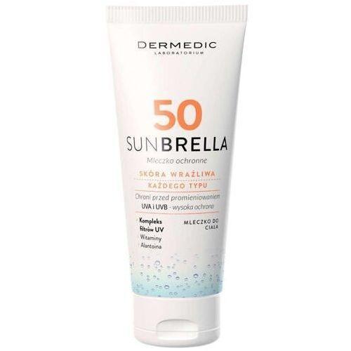 Biogened Dermedic sunbrella mleczko ochronne spf50 100g - Super cena