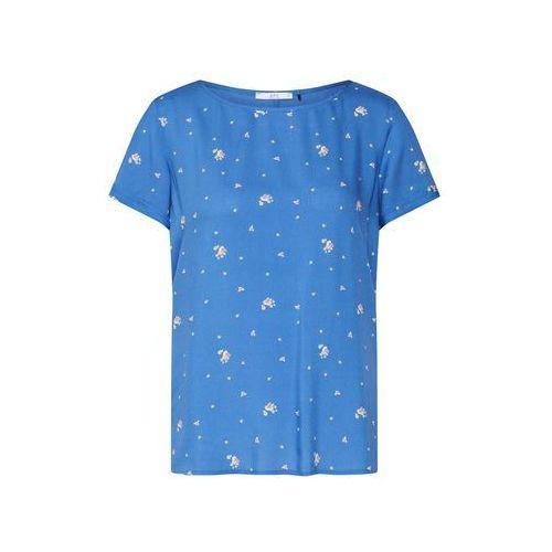 EDC BY ESPRIT Bluzka niebieski / mieszane kolory, kolor niebieski
