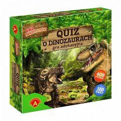 Quiz o dinozaurach - era dinozaurów marki Alexander