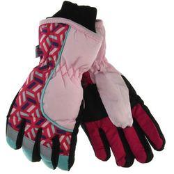 Scorpio Rękawiczki narciarskie dla dzieci - różowy ||kolorowy